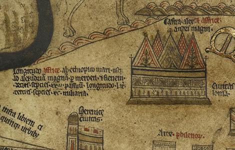 Tábor Alexandra Veľkého Hereford Mappa Mundi